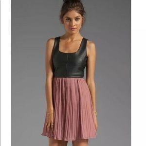 Jack by BB Dakota Blush Leather Dress